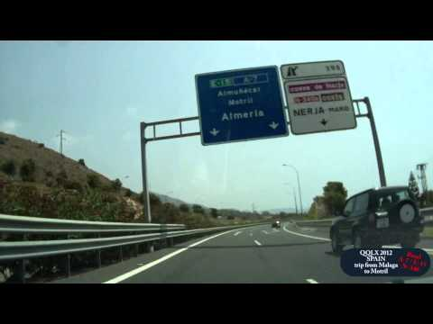QQLX 0054 SPAIN trip from Malaga to Motril - Street view car 2012