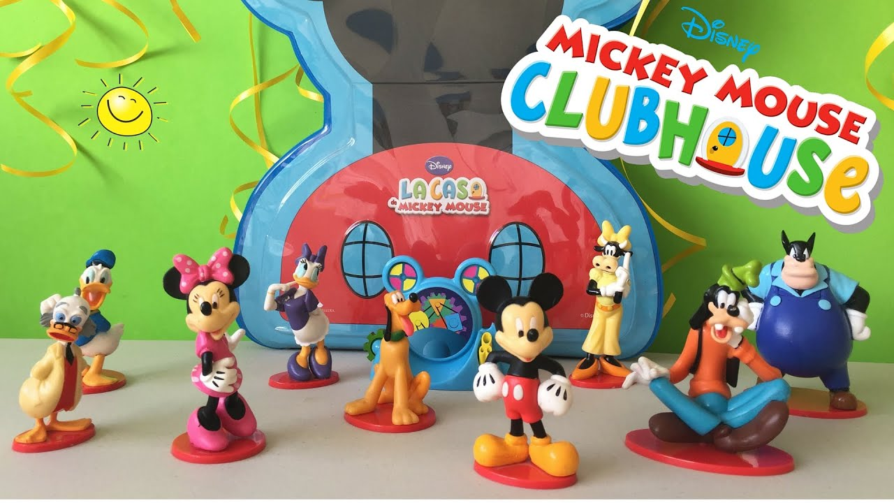 Mickey Mouse Club House Casa - Juguetes