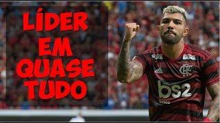 Campeão do turno, Flamengo é o melhor na maioria das estatísticas do Brasileirão