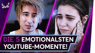 Die 5 EMOTIONALSTEN YouTube-Momente! | TOP 5