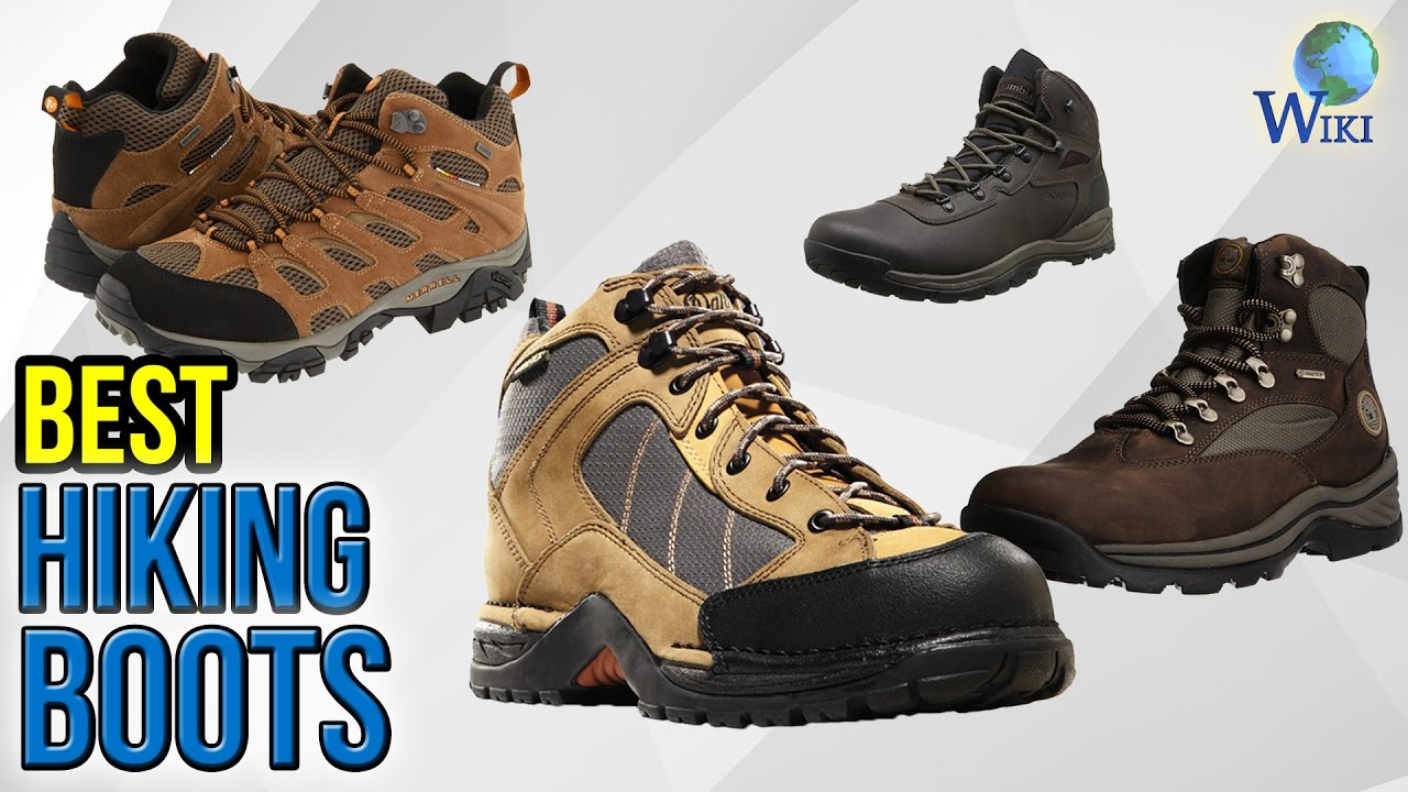 10 Best Hiking Boots 2017 - YouTube
