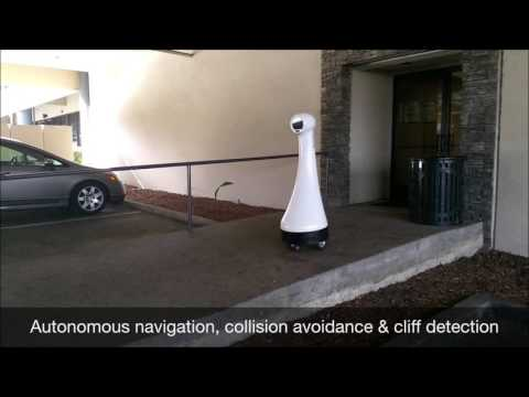 IRIS Security Robot Auto navigation, collision avoidance & cliff detection