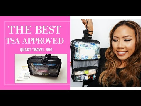The Best TSA Approved Quart Bag and How to Pack It