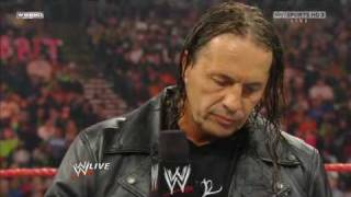(2.1.2010) Raw - Bret Hart returns to Raw to confront Vince McMahon Pt. 1