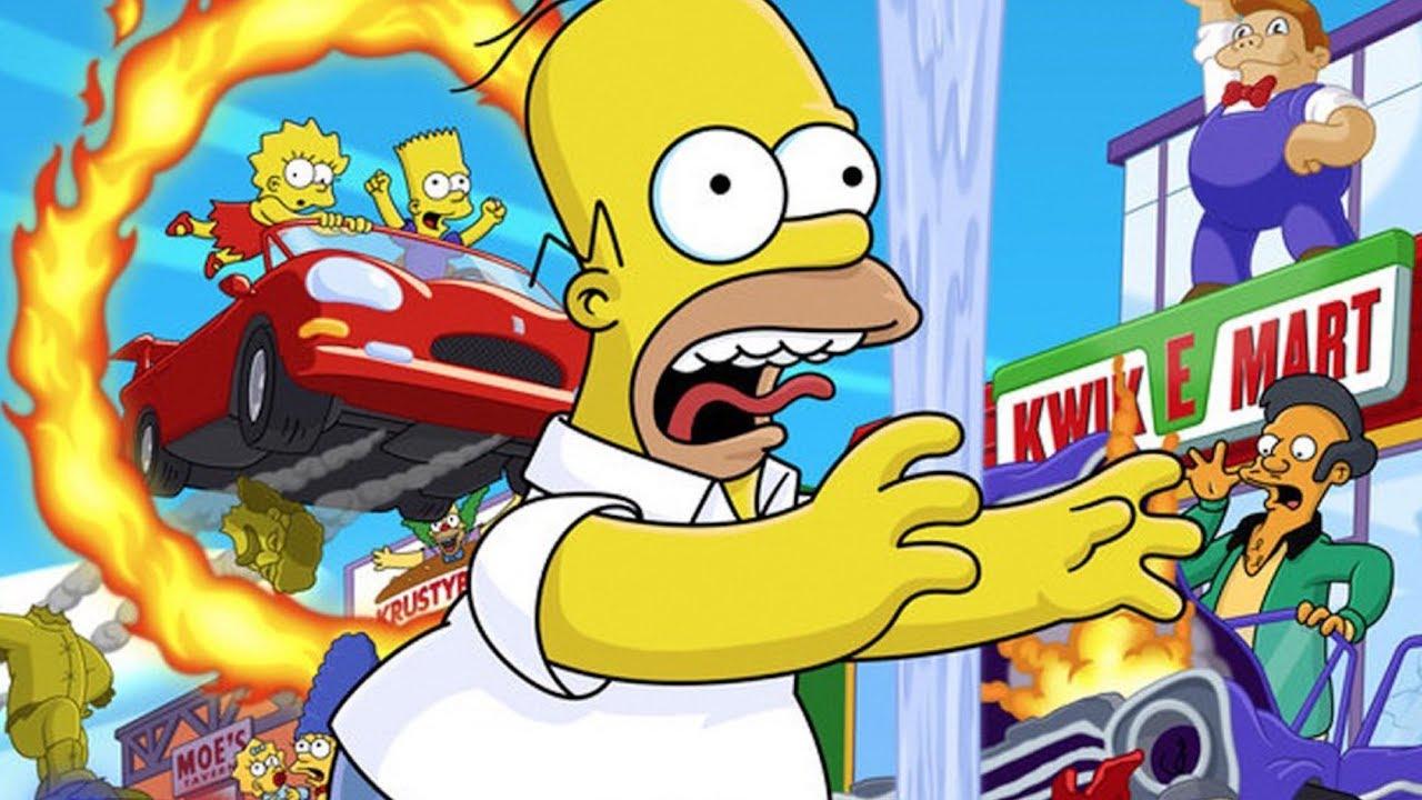 Le Meilleur Jeu #Simpsons Hit & Run sur #PS2 #FR Benzaie Live