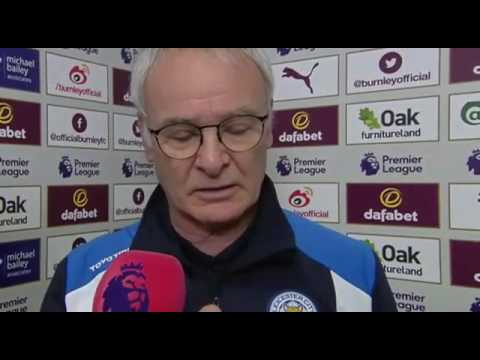 Burnley 1 - 0 Leicester City- Claudio Ranieri And Sean Dyche Post Match Interview