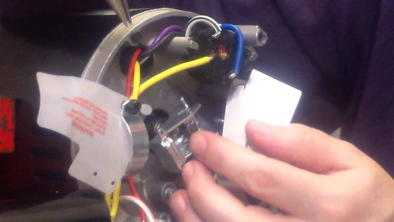 How To Remove The AO Smith  Hayward Motor Governor  YouTube