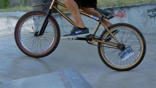 How to Ride Backwards | BMX Bike Tricks