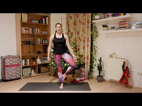 Yoga tutorial videó - Fa póz/vrikshasana