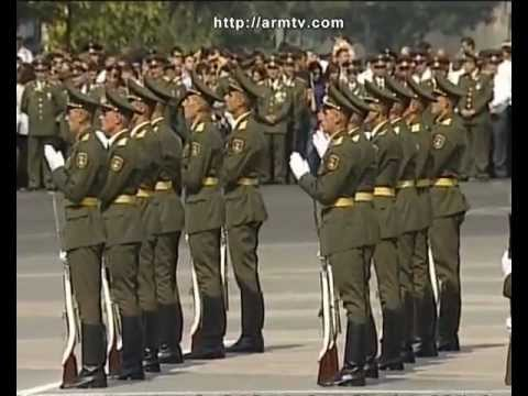 MILITARY PARADE ON THE OCCASION OF ARMENIA'S 20th ANNIVERSARY'S OF INDEPENDENCE 09 21 12