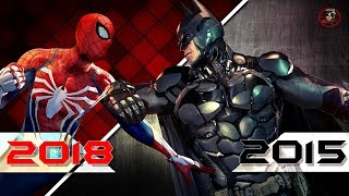 Spider-Man PS4 VS A Three Year Old Batman Game