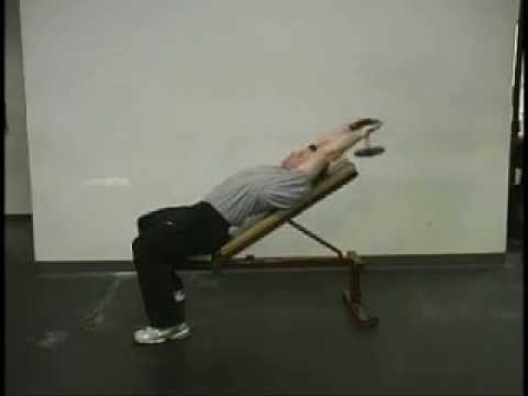 Incline Dumbbell Pullover 2 - YouTube