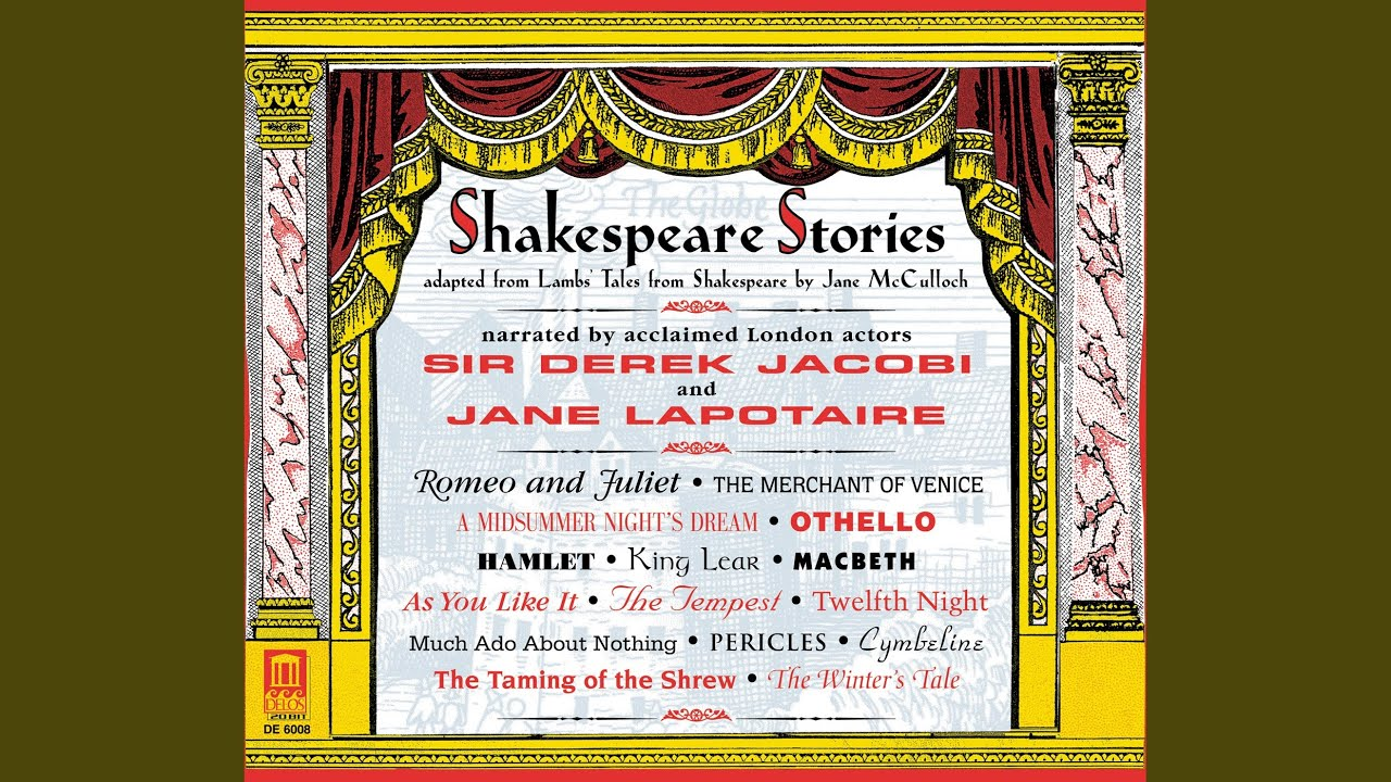 Shakespeare Stories: The Tempest (music from Tarlenton's Riserrectione by J. Dowland)