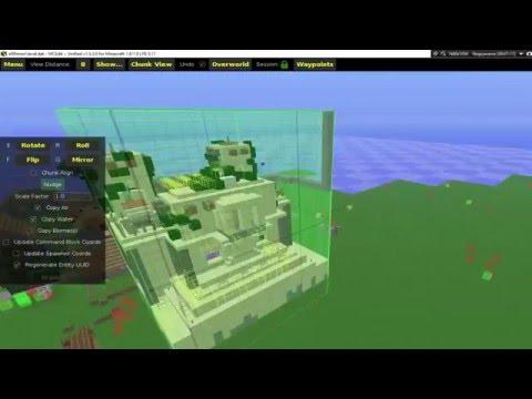 [N.K] Jak przenieść obiekt z jednego świata na drugi (Poradnik minecraft na prośbę)