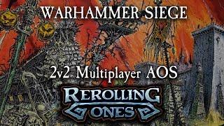 Warhammer: Age of Sigmar Battle Report - SIEGE - Deepkin, Sylvaneth, Nighthaunt, Flesh Eater Courts