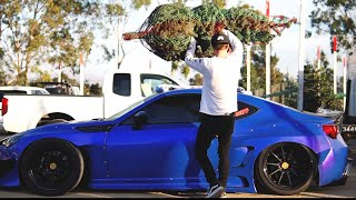 BRZ Goes Christmas Tree Shopping