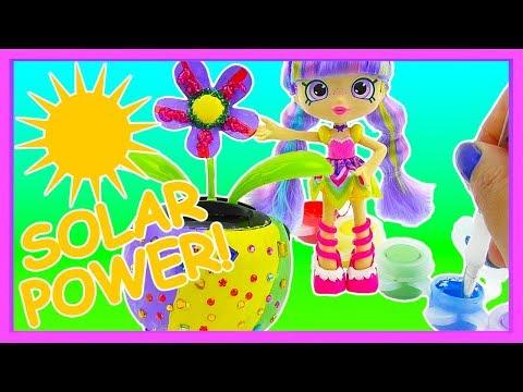 SOLAR POWERED DIY FLOWER TOY! DOLLAR STORE Craft Set
