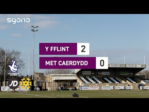 Flint Cardiff Metropolitan Goals And Highlights
