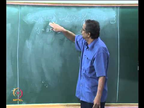 Mod-01 Lec-16 Linear wave equation - Closed form & numerical solution, stability analysis