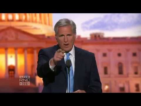 GOP Majority Leader Kevin McCarthy   2016 Republican National Convention