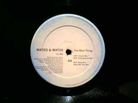 Mateo & Matos.The Real Thing.KOT Underground Mix.Glasgow Underground...