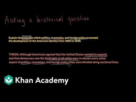 Developing An American Identity, 1800-1848 | US History | Khan Academy
