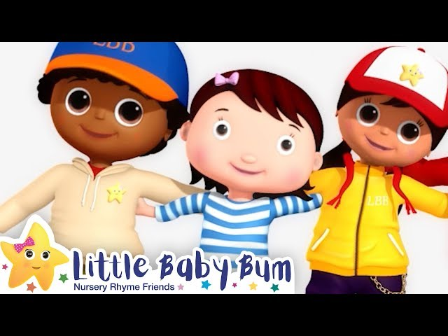 The Together Song! +More Nursery Rhymes & Kids Songs - ABCs and 123s | Little Baby Bum