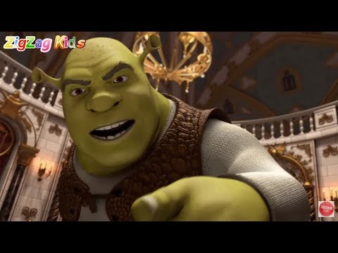 Shrek Forever After | All Cutscenes Movie Game | ZigZag Kids HD