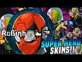 VANISH SPLIT con las NUEVAS Skins de SUPER HEROES!! |Agar.io | SUPER HERO Skins | Rubinho vlc