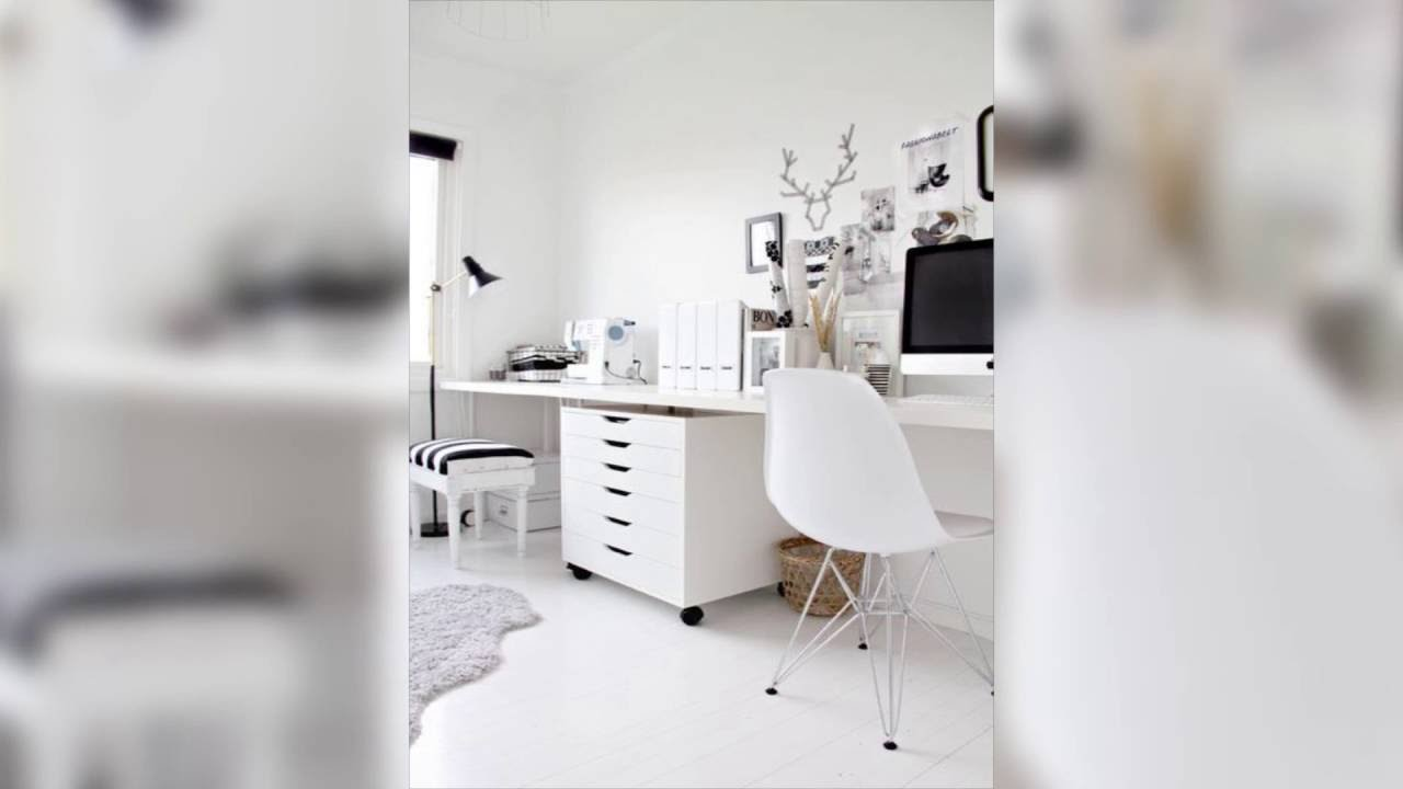 ideas para decorar tu oficina en casa parte reinventa tu estudio con decoracin color blanco