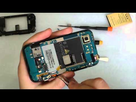 How to replace charging port (USB) HTC Incredible S (s710e)
