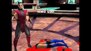 Mortal Kombat Gold: The Fatalities (Sega Dreamcast - 1999)