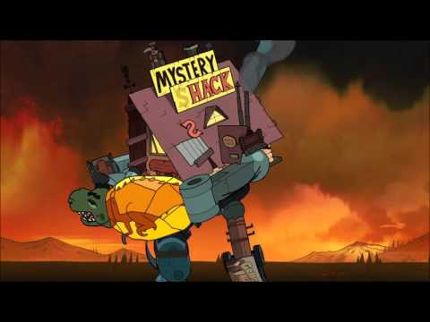 Gravity Falls Soundtrack - Shacktron Battle