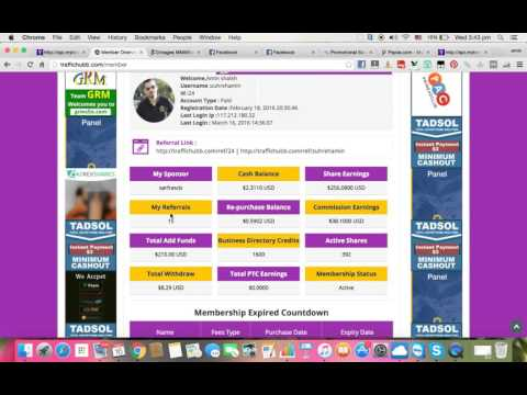 Traffichubb Review  Traffic hubb review of my account day 15