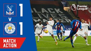 GUAITA SAVES A PENALTY & ZAHA SCORES A VOLLEY | Match Action