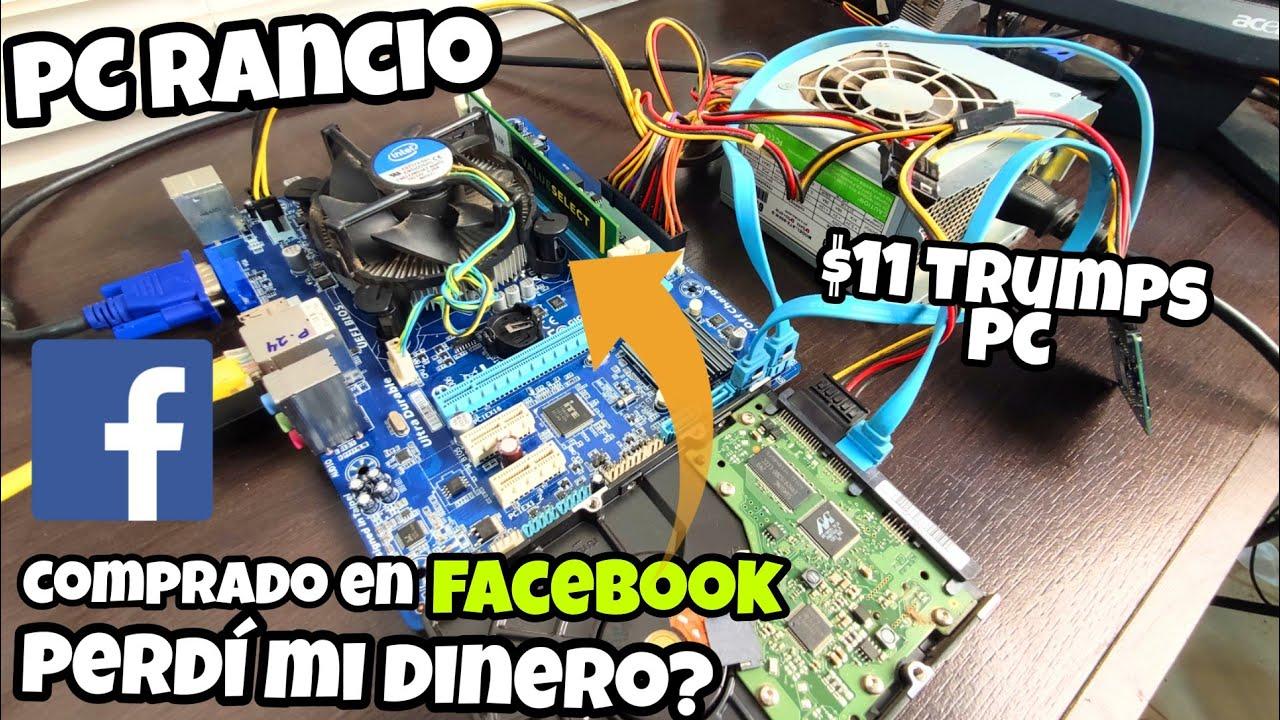 COMPRO UN PC RANCIO $11 EN FACEBOOK - PERDÍ MI DINERO? Parte 2