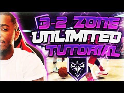 3-2 ZONE BEST DEFENSE TUTORIAL ONLINE IN UNLIMITED L NBA 2K20 MYTEAM!
