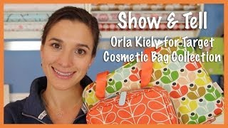 Show & Tell: Orla Kiely for Target Cosmetic Bag Collection Thumbnail