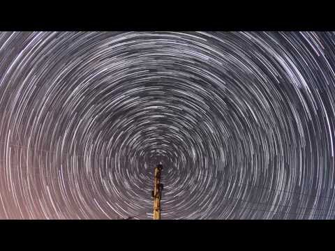 Pole/star timelapse
