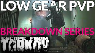 Escape From Tarkov - LOW Gear PVP - Playing SMART / Breakdown & Analysis - KRASHED