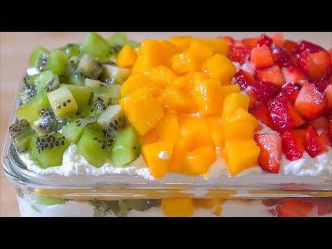 水果盒子的做法,香甜细腻,好吃不发胖