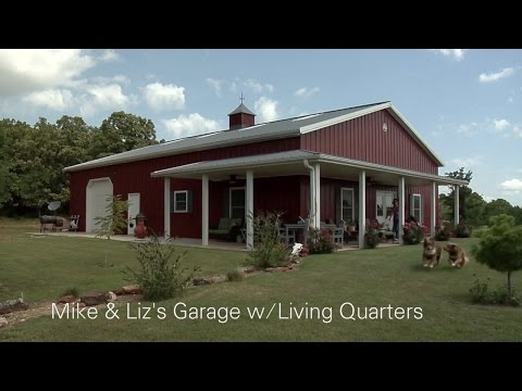 Mike & Liz's Garage w/Living Quarters