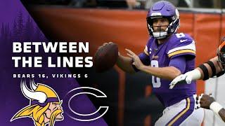 Between The Lines: Chicago Bears 16, Minnesota Vikings 6