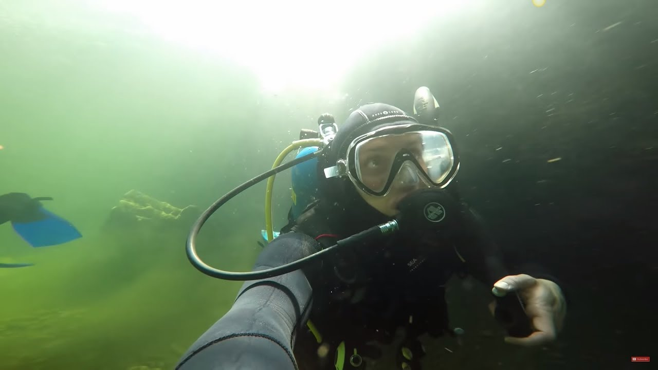 Scuba Diving for Gold in the River!