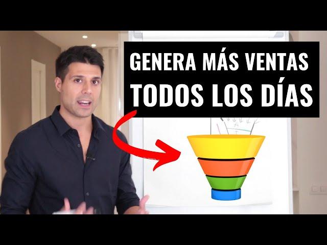 💵 Cómo Crear un Embudo de Ventas y Vender Todos los Días (Funnel de Ventas Explicado)