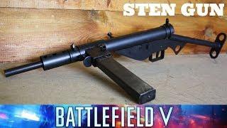 STEN GUN REVIEW, WITH FINNTROLL 1984 (BATTLEFIELD V)