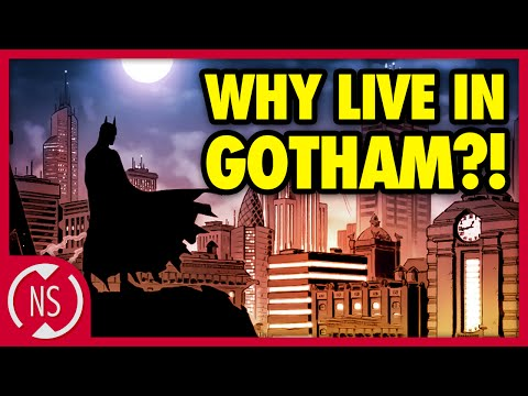 Why Do People STILL Live in Gotham?! || Comic Misconceptions || NerdSync