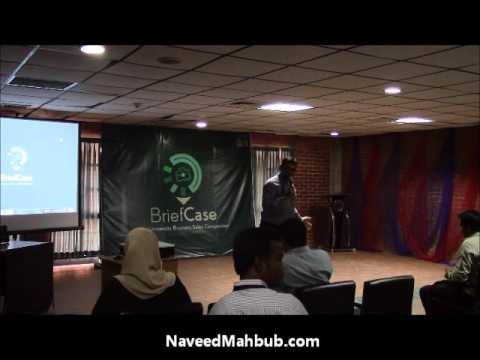 Humorous Speech on Sales & Taking Risks by Naveed Mahbub