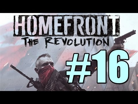 Homefront the Revolution Walkthrough Part 16 Lombard Red Zone - Ending