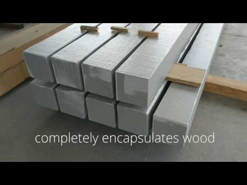 Polymer Coated Wood -- Polyshield wood coating